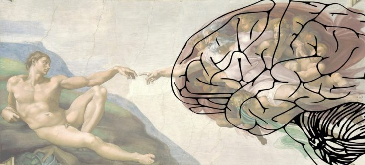 Michelangelo Creation of Adam Brain